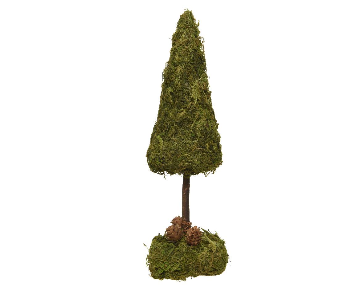Moss mini boom l9b9h28cm groen