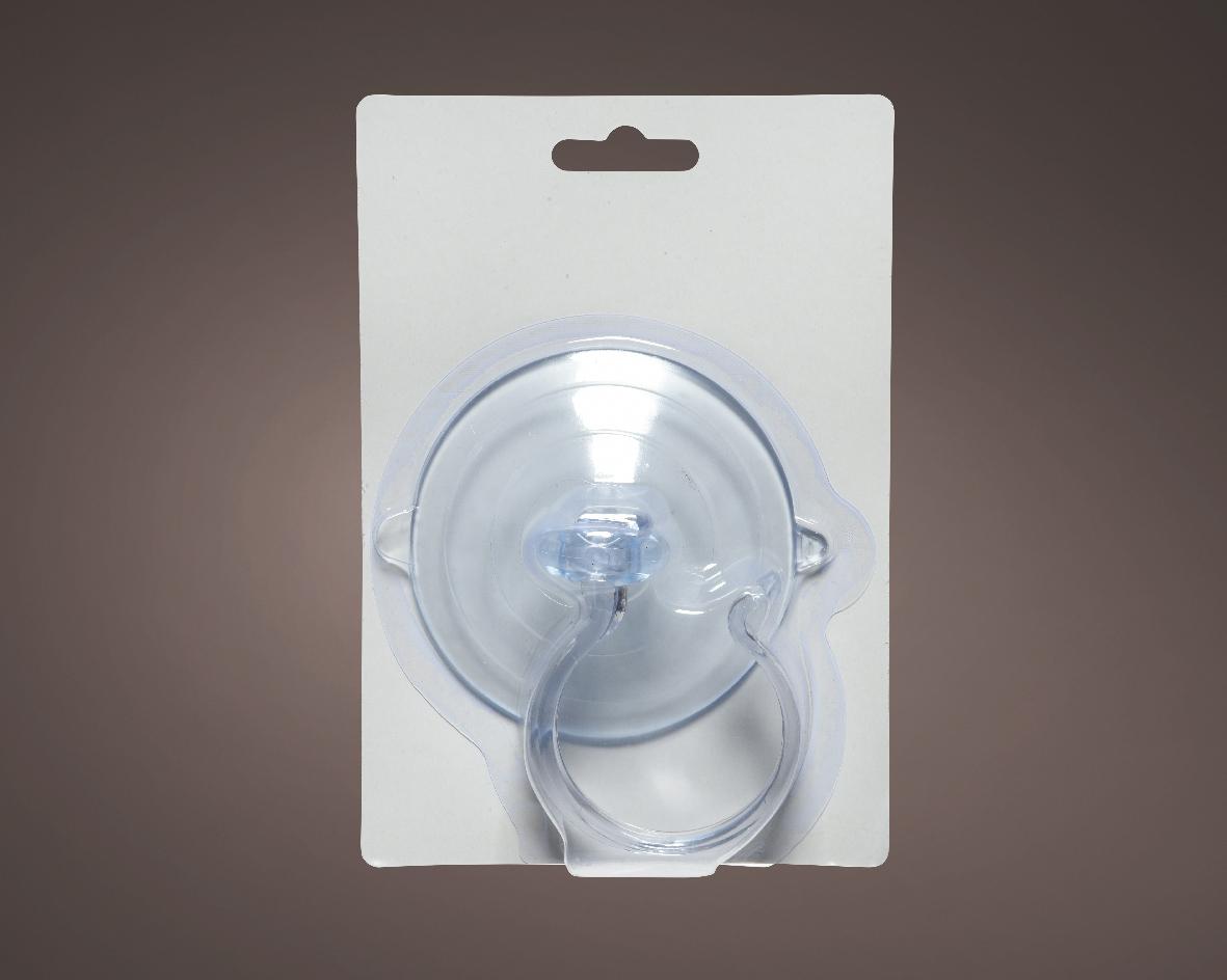 Accessoires plc d8.50cm transparant