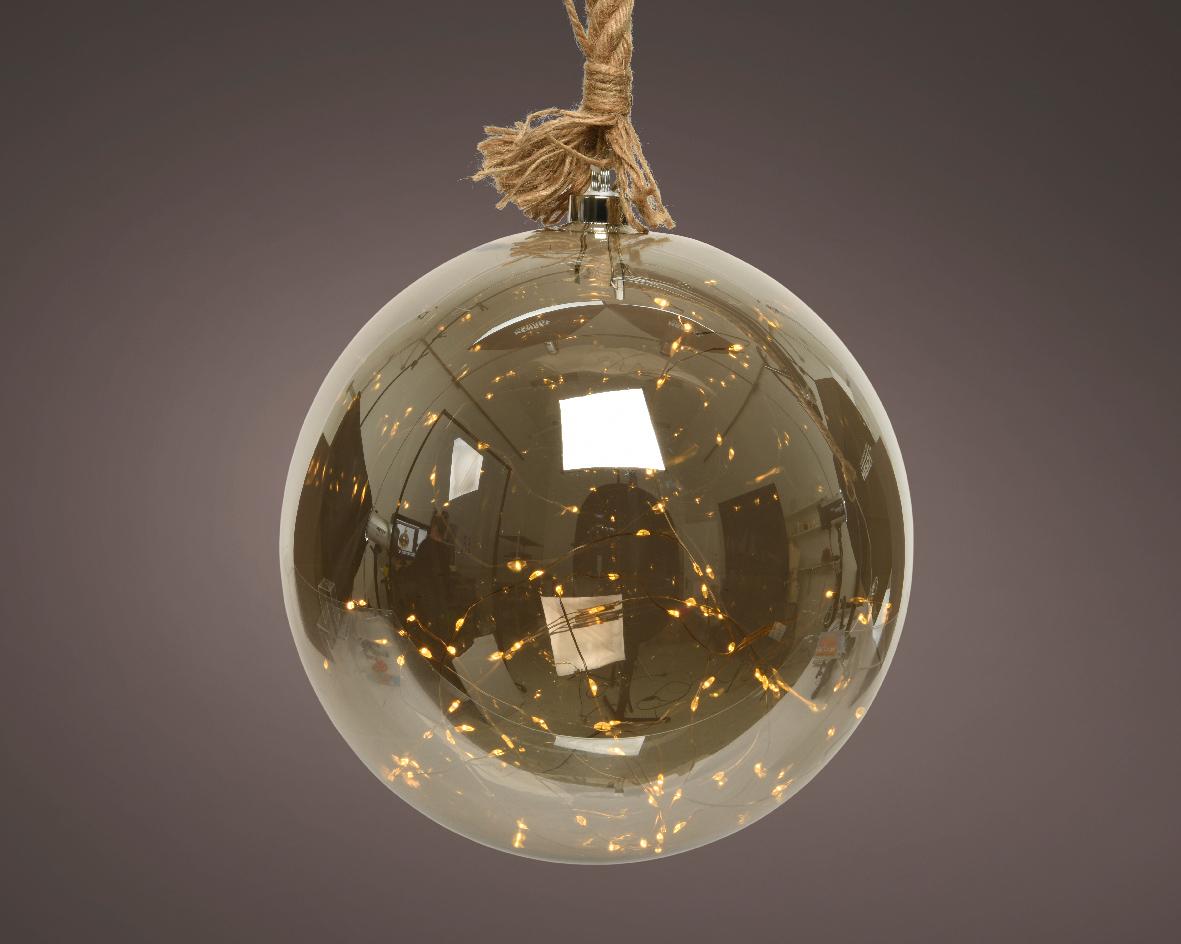 Micro LED bal d25h80cm-50l rookgrs