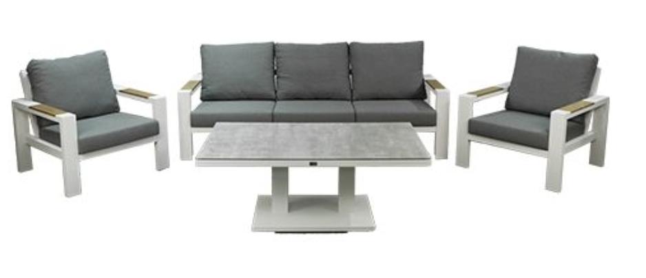 Benton Sofa Loungeset Wit