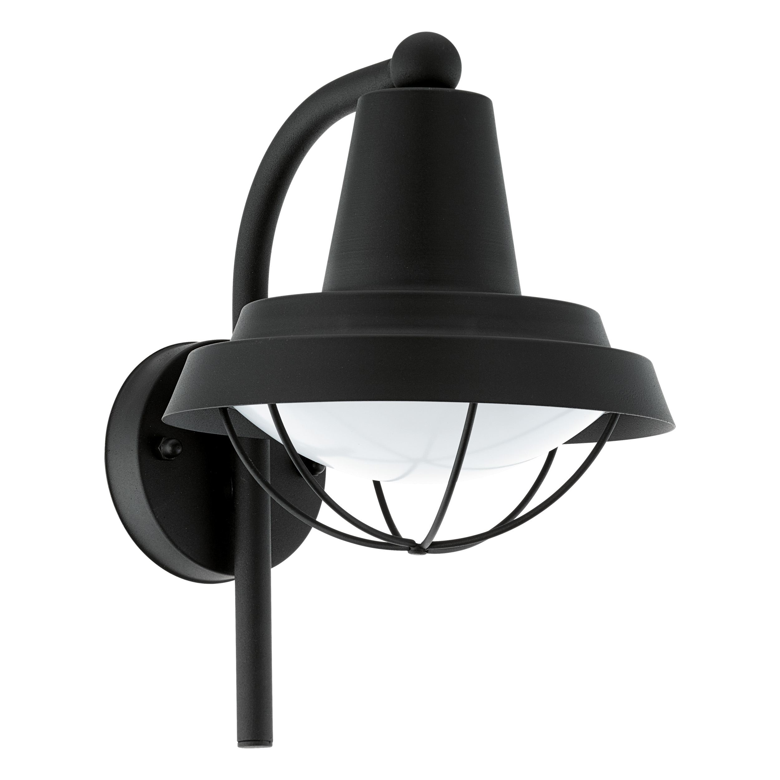 Wandlamp colindres 1 zwart E27