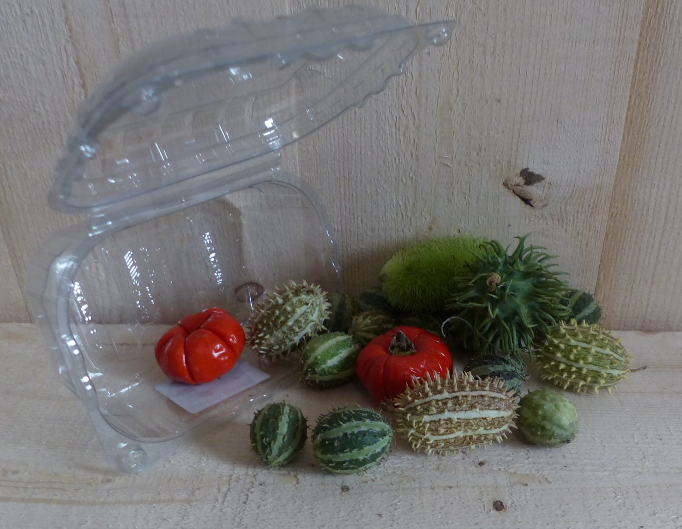 Deco fruit herfst in bakje