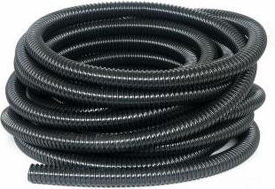 Vijver ribbelslang zwart 40 mm x 30 mtr