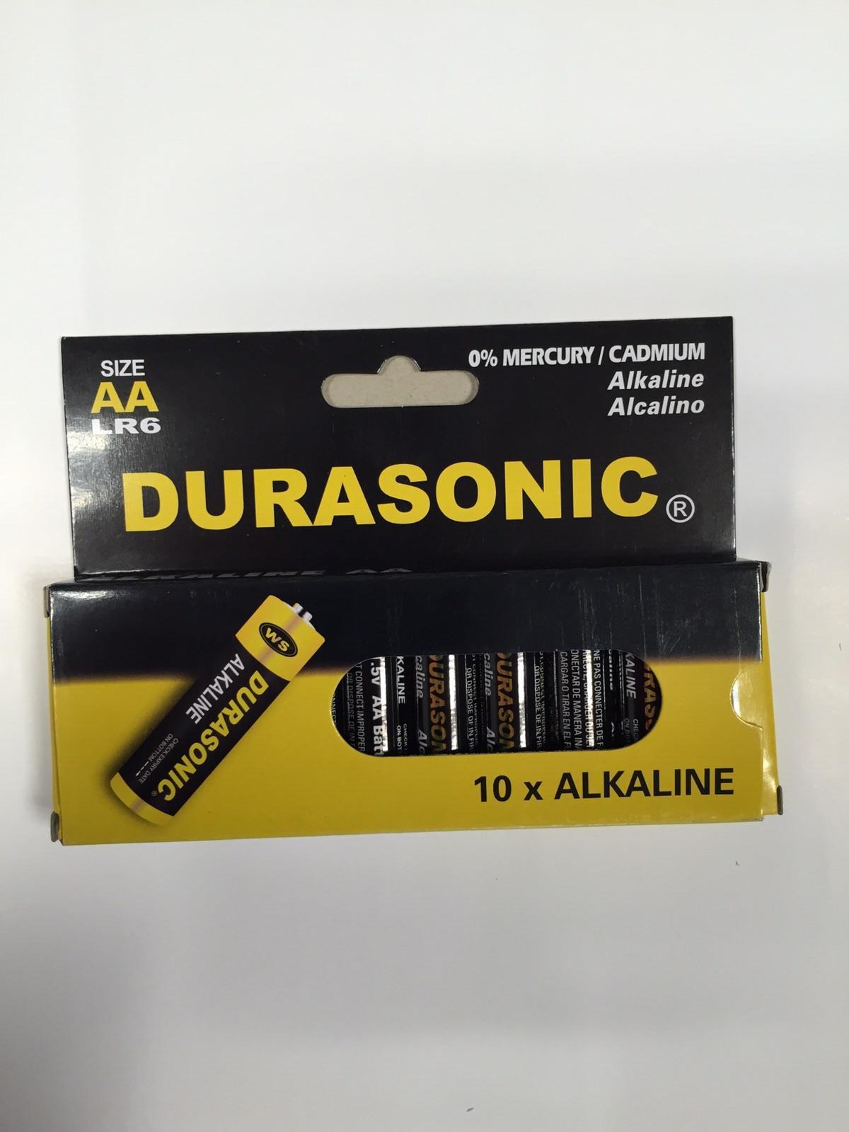 Batterijen AA 10 stuks