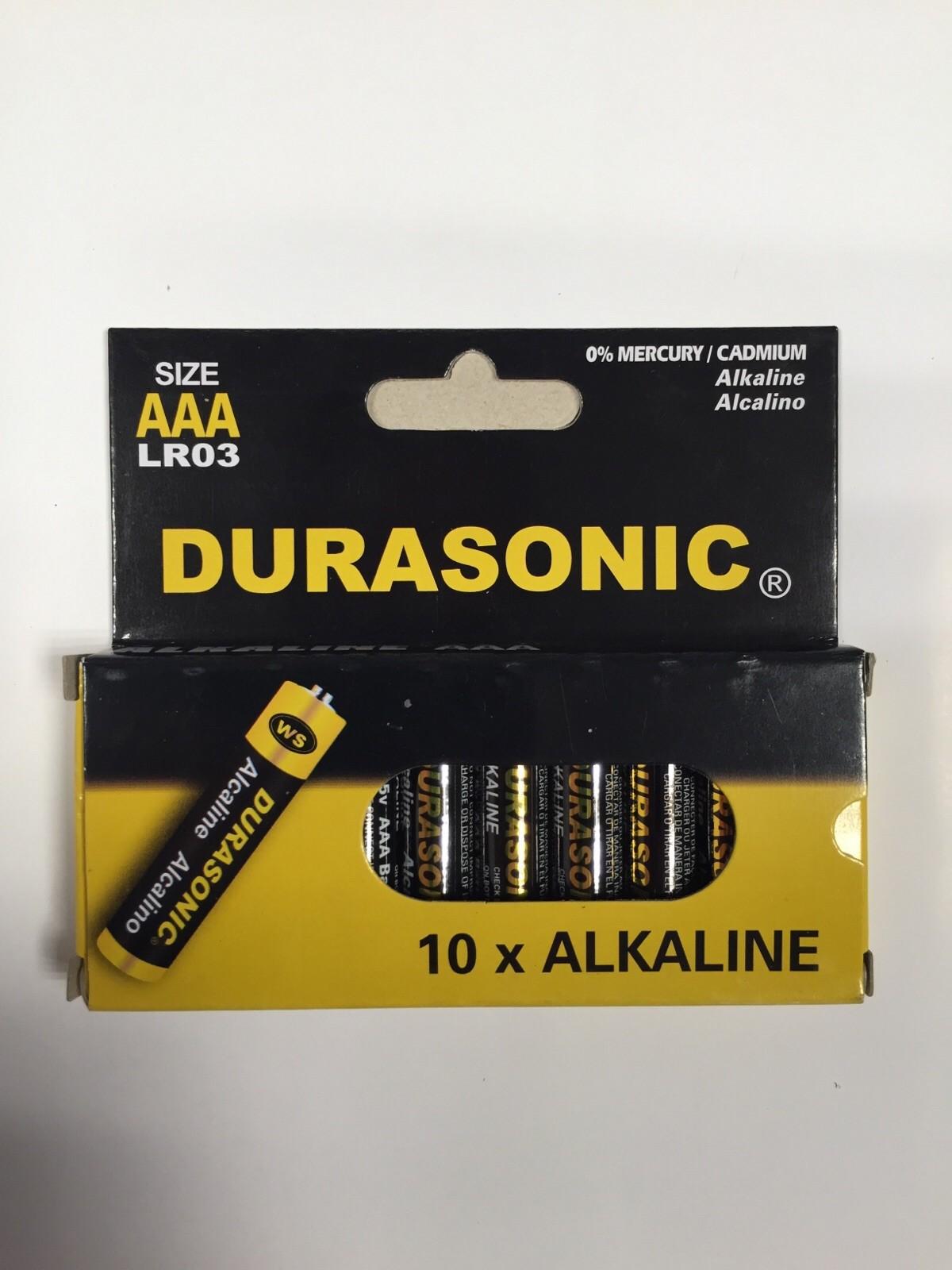Batterijen AAA 10 stuks