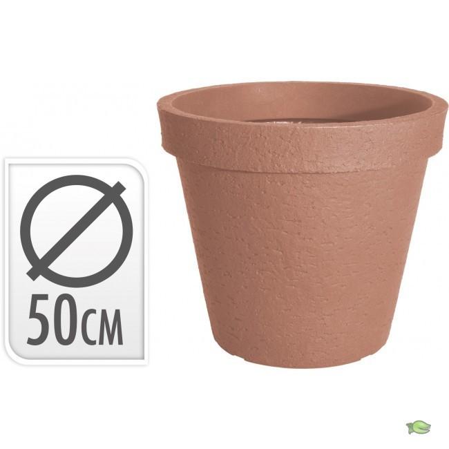 Bloempot terracotta 50 cm