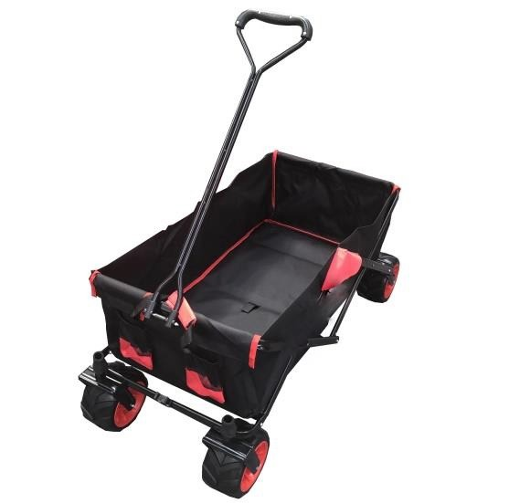 Bolderwagen rood - zwart