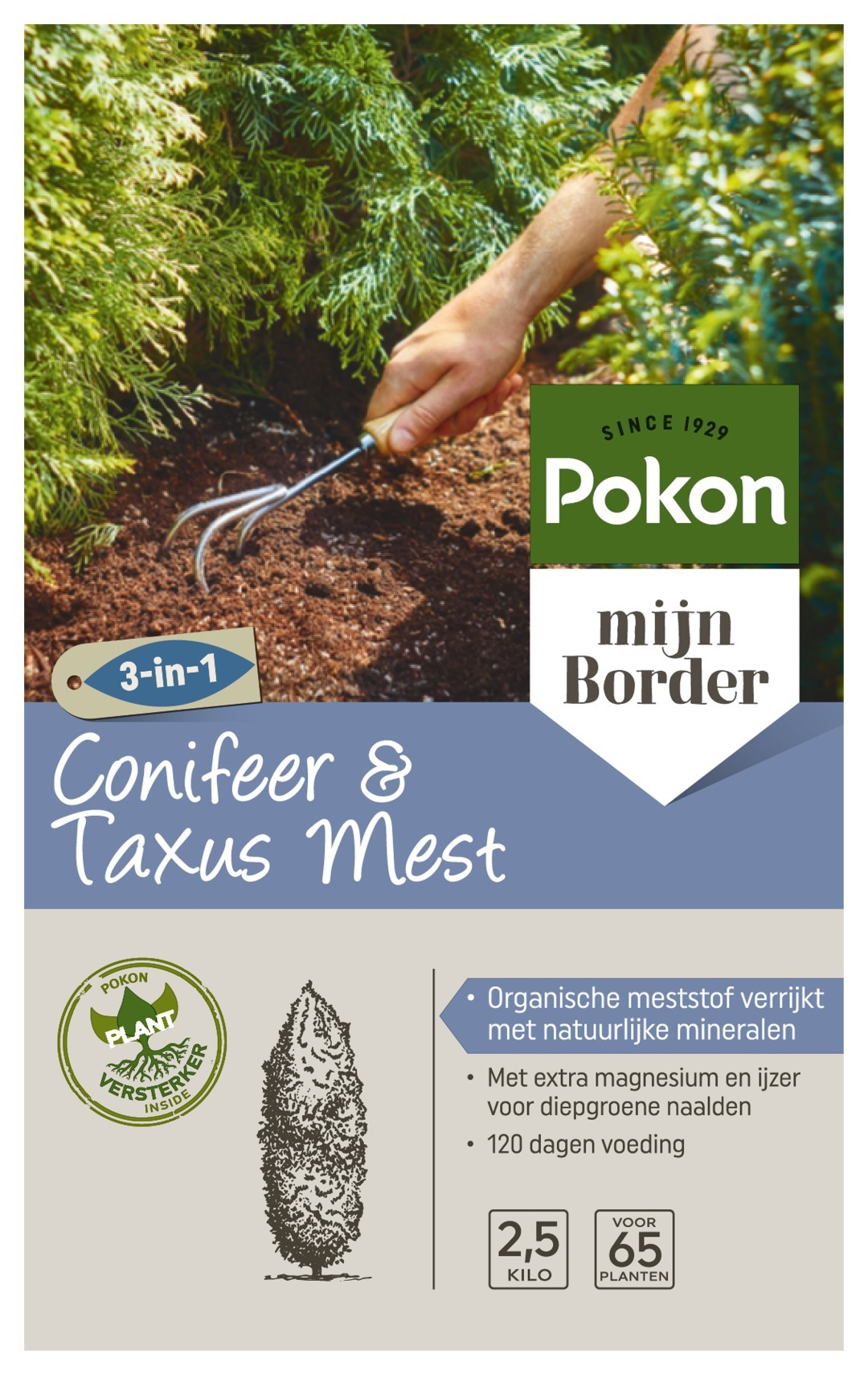 Conifeer & Taxus Voeding 2,5kg