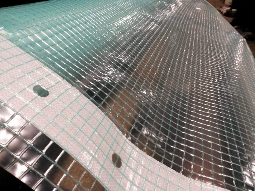Gewapend plastic folie 2m breed prijs is per strekkende meter