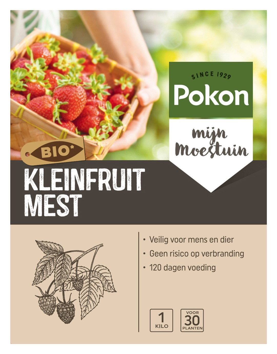 Kleinfruit Voeding 1kg