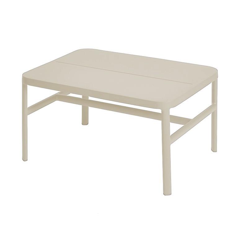 Grace coffee table/ottoman 67x50x36 cm alu pearl grey