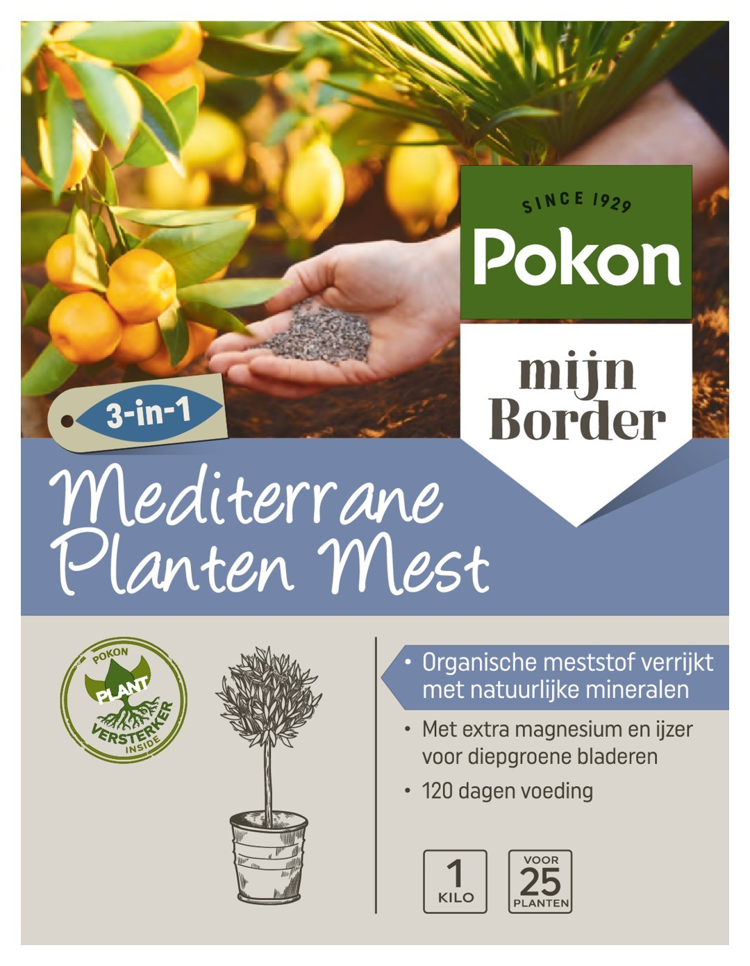 Mediterrane Planten Voeding 1kg