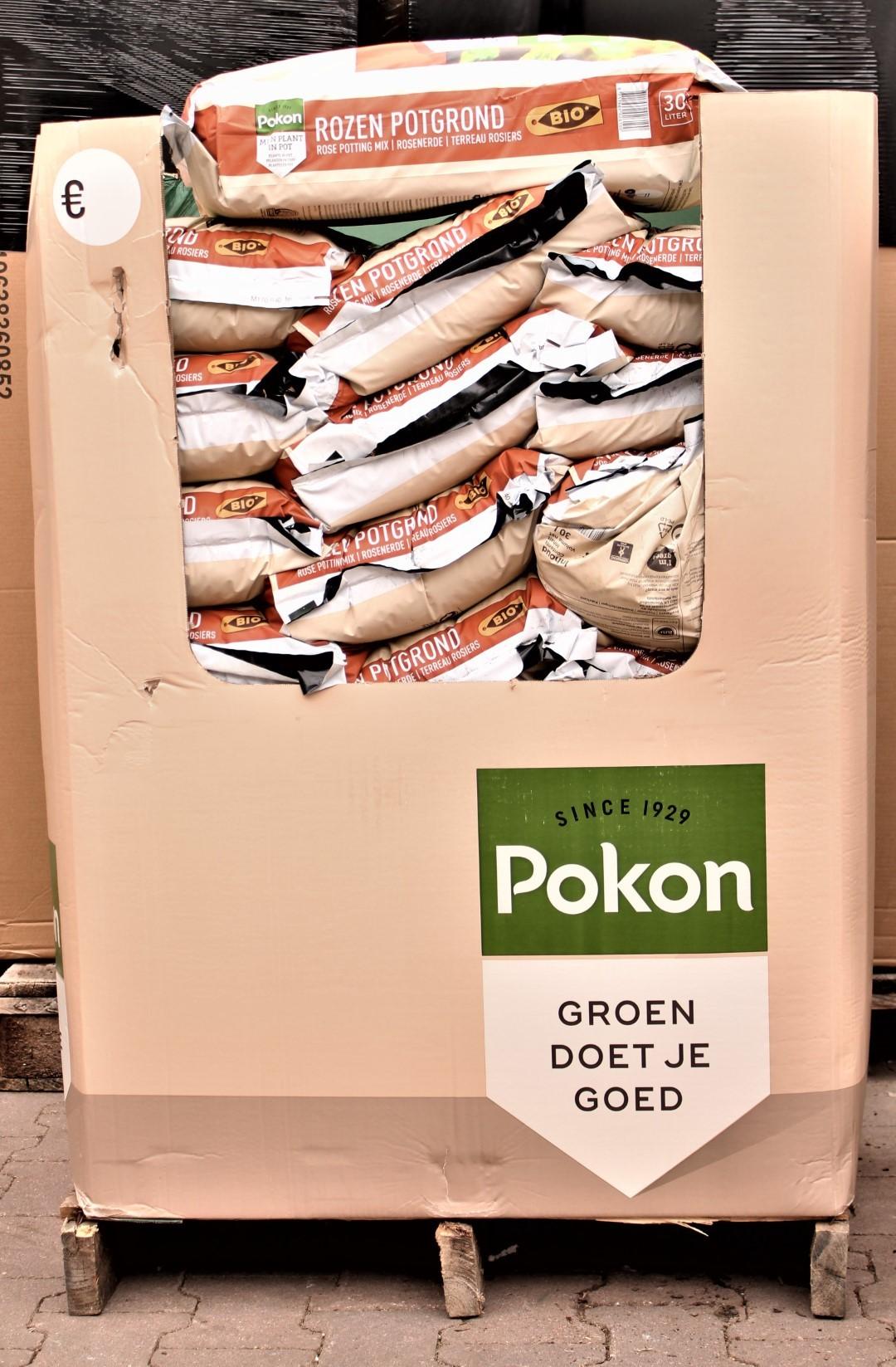 Pallet Mini Rozen Grond 480 liter