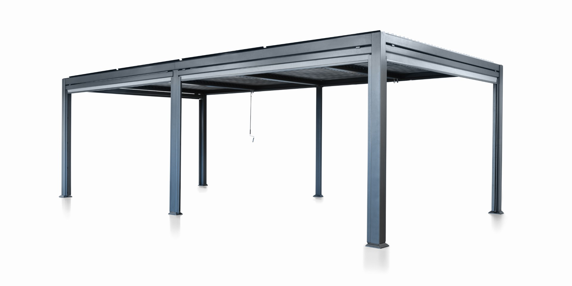 Patio Cover 3.5 bij 5.4 meter Antraciet Overkapping