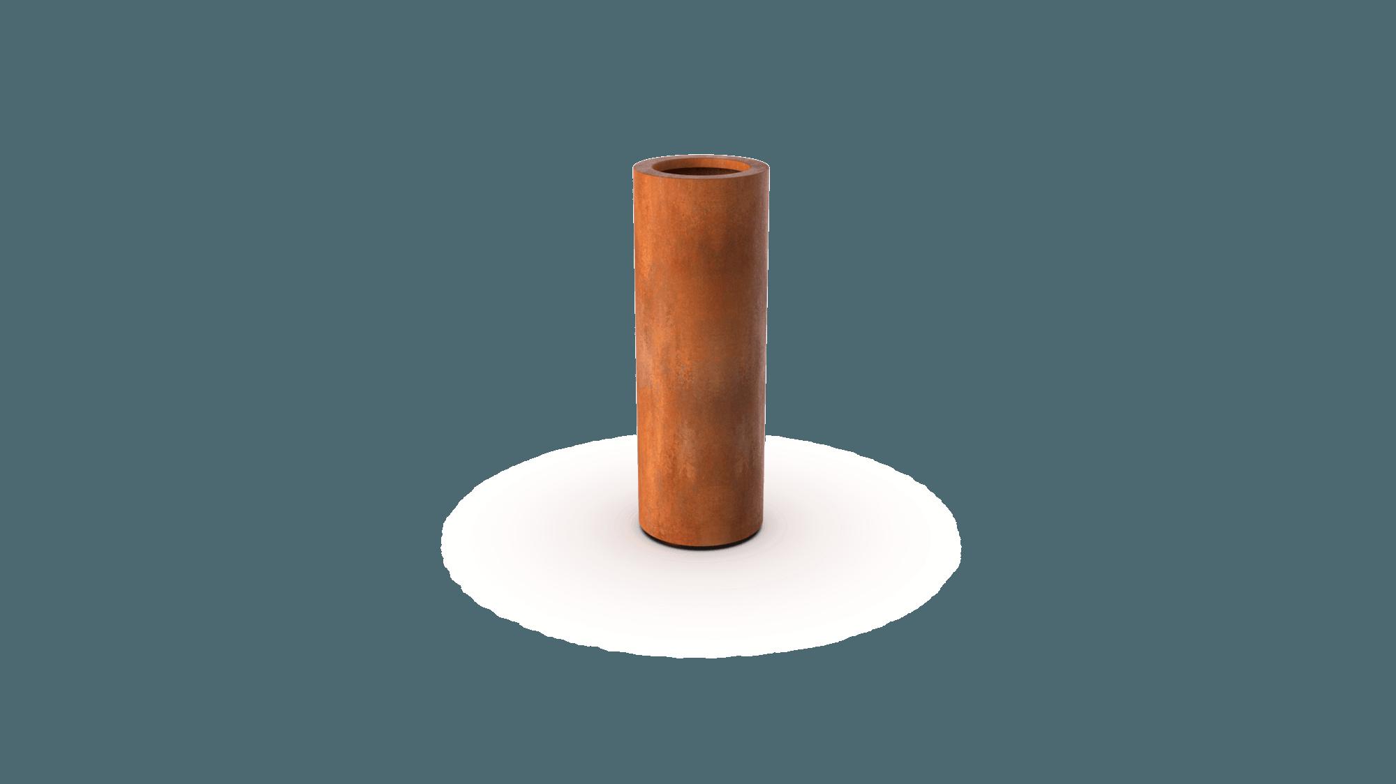 Plantenbak Ronda roestkleurig 100x35 cm Geroba