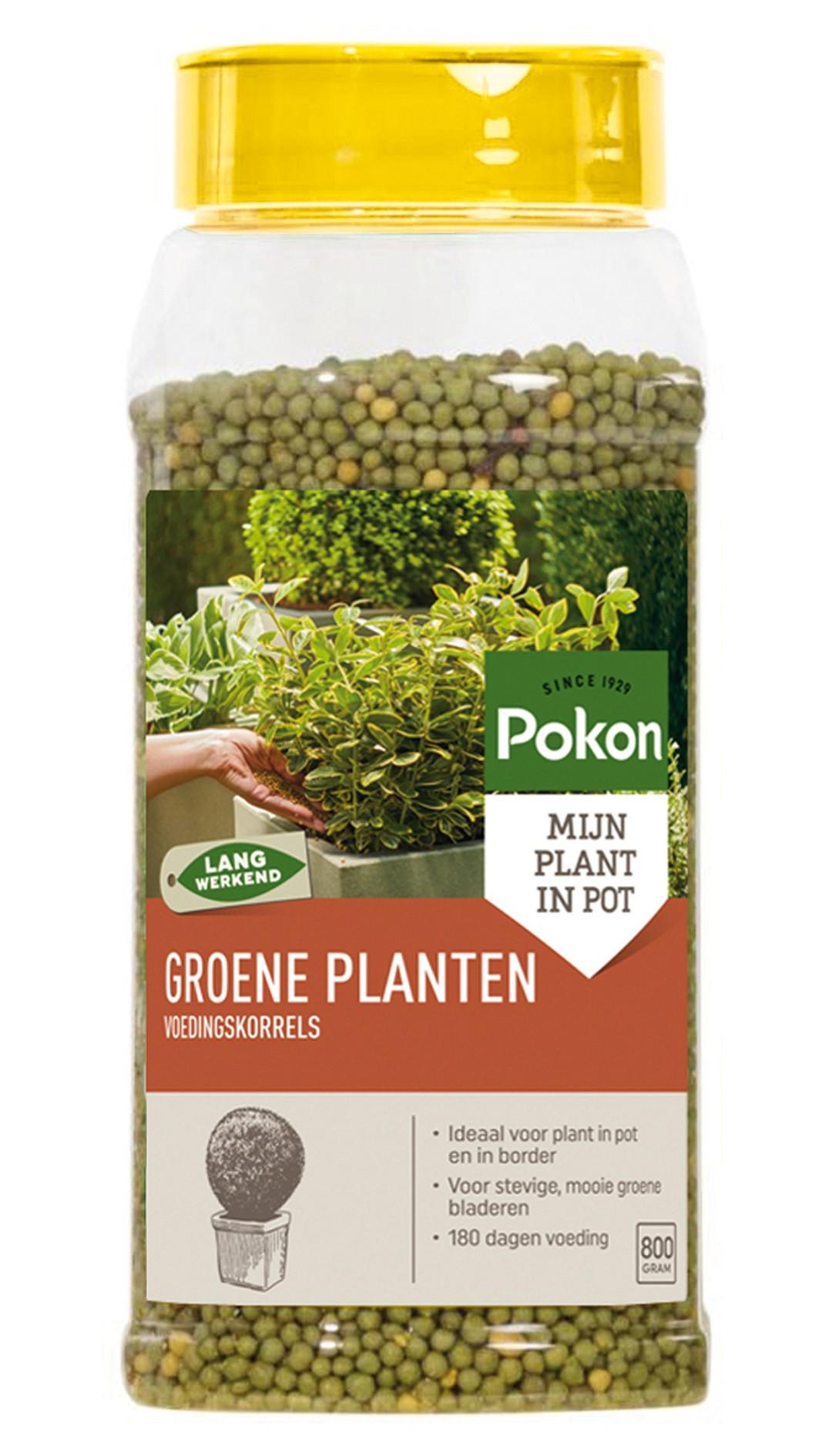 Groene Planten Voedingskorrels 800gr