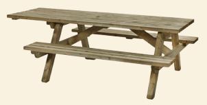 Rolstoelpicknicktafel 230x160cm